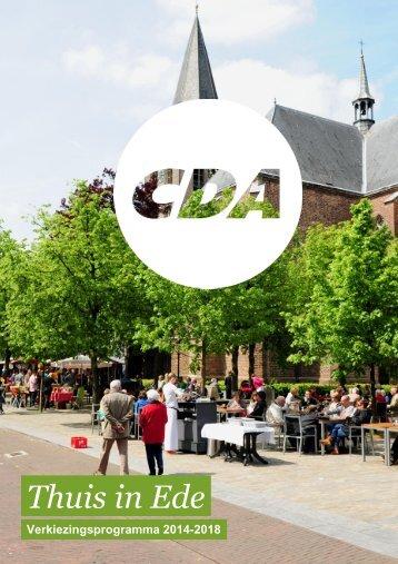 Verkiezingsprogramma-CDA-2014-20181