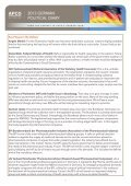 German Elections 2013: Health Policy - APCO Worldwide - Page 3
