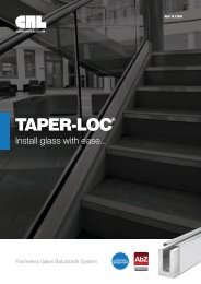 TAPER-LOC® - RIBA Product Selector