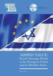 HJS-FOI-Israels-Strategic-Worth