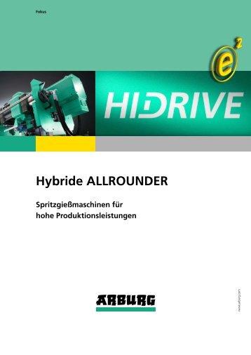 Prospekt: Hybride ALLROUNDER - Arburg