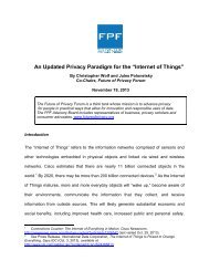 """Wolf-and-Polonetsky-An-Updated-Privacy-Paradigm-for-the-""""Internet-of-Things""""-11-19-2013"""