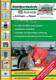 neuer katalog - Archus Neumeier GmbH & Co.KG