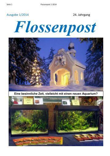 Ausgabe 1/2014 24. Jahrgang - Aquarienfreunde Stade e.V.
