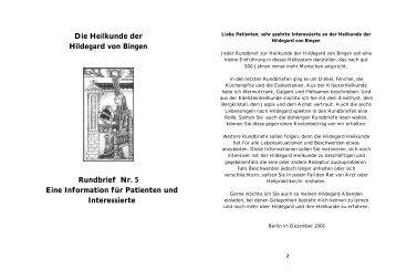 Die Heilkunde der Hildegard von Bingen ... - Daniela Dumann