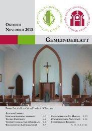 Oktober/November - Auferstehungskirche Dresden-Plauen