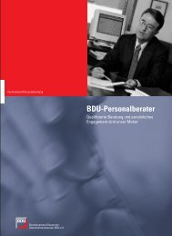 Personalberatung - Bundesverband Deutscher ...