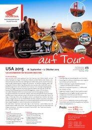 USA 2015 18. September – 7. Oktober 2015 SAchSenbiker im ...
