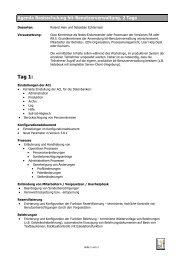 Agenda und Faxanmeldung - Bit Informatik GmbH
