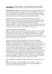 Interview mit Hermann Müller (2) - blsv