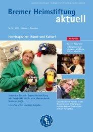 aktuell - Bremer Heimstiftung