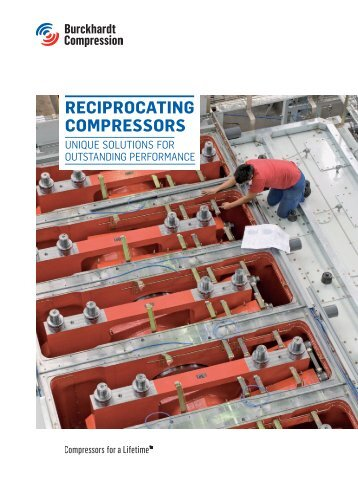 RecipRocating compRessoRs - Burckhardt Compression