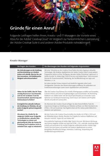 CCfT_Gründe für einen Anruf.pdf - ComLine GmbH