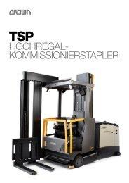 Broschuere TSP Hochregalstapler - Crown Equipment Corporation