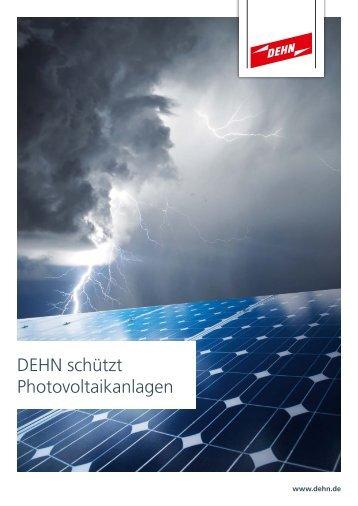 DEHN schützt Photovoltaik-Anlagen