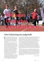 100 Jahre Deutsches Sportabzeichen