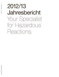 2012/13 Jahresbericht Your Specialist for Hazardous ... - Dottikon