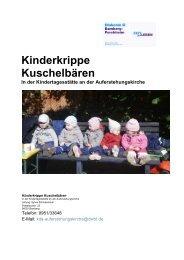 Unsere Konzeption (PDF) - Diakonisches Werk Bamberg ...