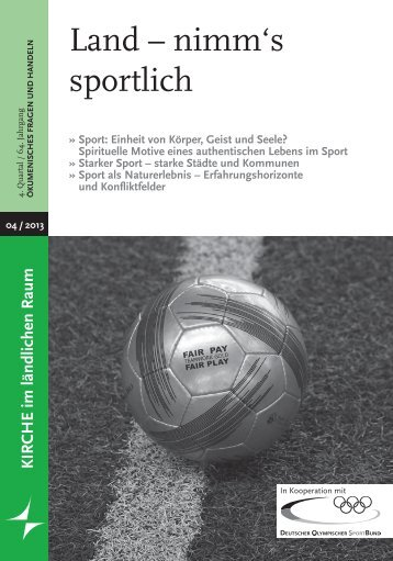 Die Publikation zum Download - Der Deutsche Olympische Sportbund