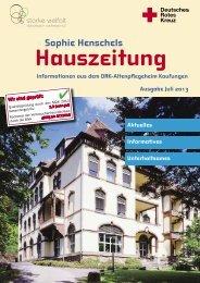 Sophie Henschels - DRK Altenpflegeheim