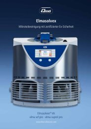 Elmasolvex - Elma Hans Schmidbauer GmbH & Co. KG
