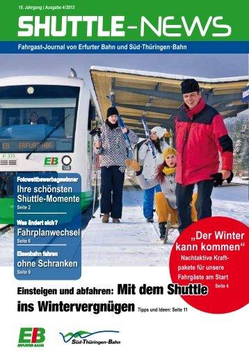 Shuttle News 4 - Erfurter Bahn