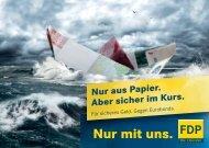 Postkarte Sicheres Geld (PDF) - FDP