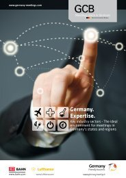 Germany. Expertise. Key industry sectors - The ideal ... - GCB