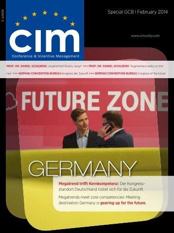 GCB Special in CIM Februar 2014 / PDF ( 4.065,3 KB )