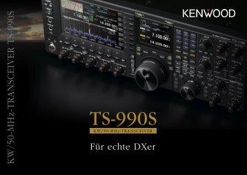 KW/50-MHz-TRANSCEIVER TS-990S - Funktechnik Dathe