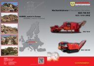 Nachzerkleinerer / Secondary Shredder NZS 700 D/E ... - Hammel.de