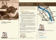 Pädagogisches Kolloquium 2. Halbjahr 2014 - Hebo