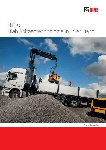 HiPro Hiab Spitzentechnologie in Ihrer Hand