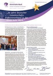 Weihnachten 2013 - Klinik Hohe Mark