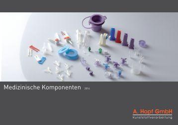 Katalog - Medizinische Komponenten 2014 - A. Hopf
