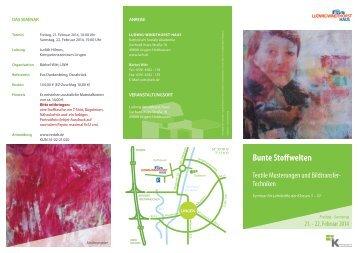 Veranstaltungsflyer zum Download - Kath.de