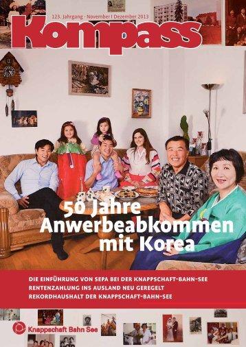 Kompass - November | Dezember 2013 (PDF/777 KB) - Knappschaft ...