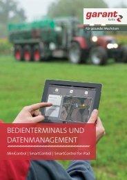 BEDIENTERMINALS UND DATENMANAGEMENT - Kotte Landtechnik