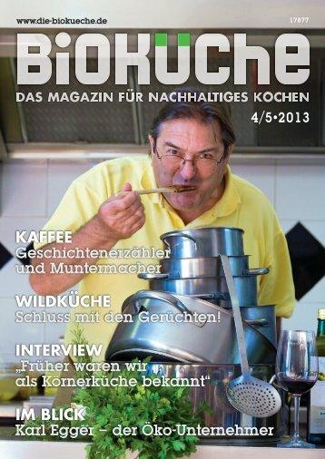 Die Bioküche, Dezember 2013: Karl Egger - der Öko ... - LaSelva