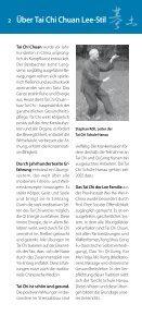 Jahresprogramm 2013 - Tai Chi Schule - Hanau - Seite 2