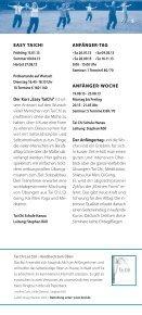 Jahresprogramm 2013 - Tai Chi Schule - Hanau - Seite 5