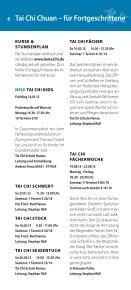 Jahresprogramm 2013 - Tai Chi Schule - Hanau - Seite 6