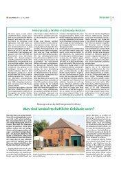 Was sind landwirtschaftliche Gebäude wert?