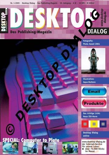 Desktop Dialog Nr. 01-2005