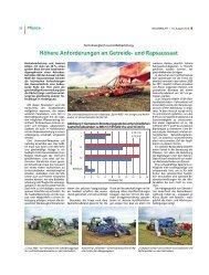 Höhere Anforderungen an Getreide - Landwirtschaftskammer ...