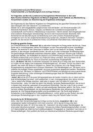 Landessortenversuch Winterweizen 2013 - Landwirtschaftskammer ...