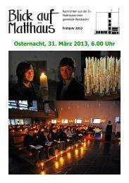Gemeindebrief Frühjahr 2013 - Evangelischen ...
