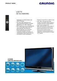 LCD TV 32 VLC 6200 BG - Media ran GmbH
