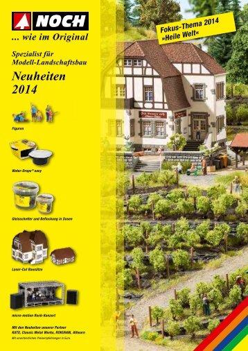 Neuheiten 2014 - Noch
