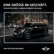 business packages clubman (pdf) - Mini